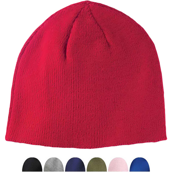 Printed Big Accessories Knit Value Fleece Beanie