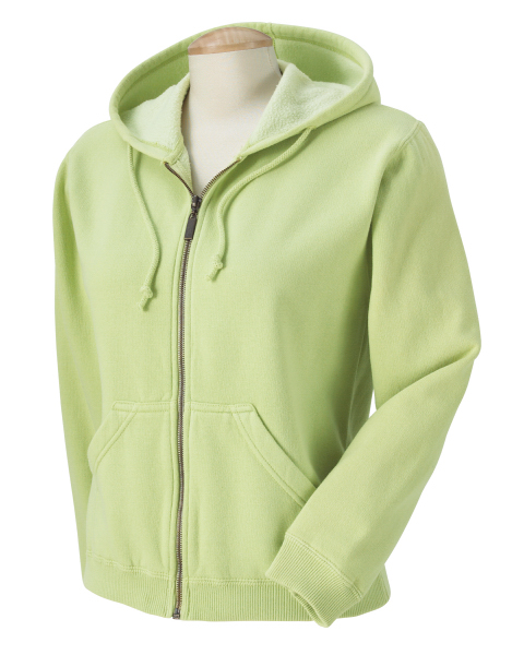 Personalized Comfort Colors Ladies' 10 oz. Garment Dyed Full Zip Hood