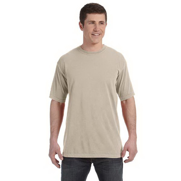 Customized Comfort Colors Men's 4.8 oz. Ringspun Garment Dyed T-Shirt