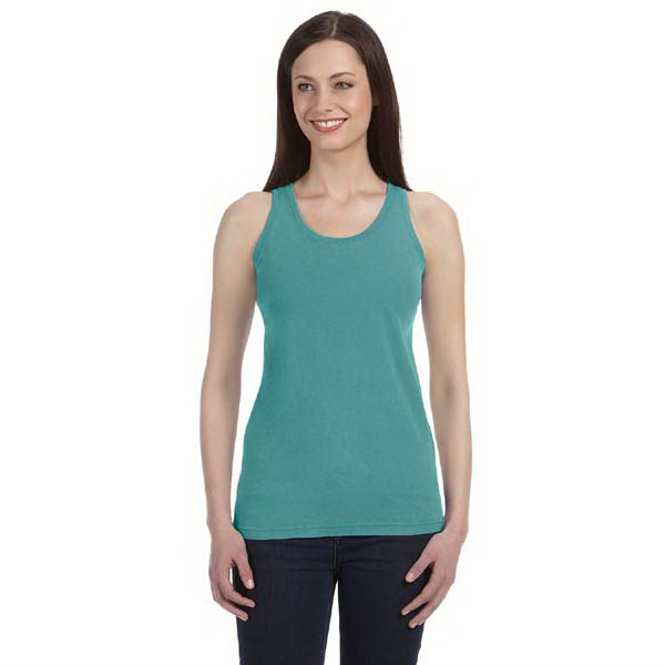Personalized Comfort Colors Ladies' 5.4 oz. Ringspun Garment Dyed Tank