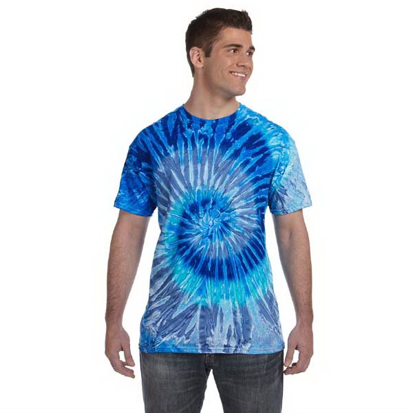 Promotional Tie-Dye 5.4 oz, 100% Cotton Tie-Dyed T-Shirt