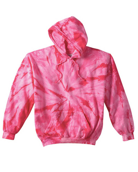 Personalized 8.5 oz. Tie-Dyed Pullover Hood