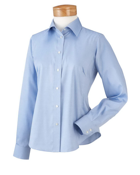 Personalized Ladies' executive performance pinpoint oxford