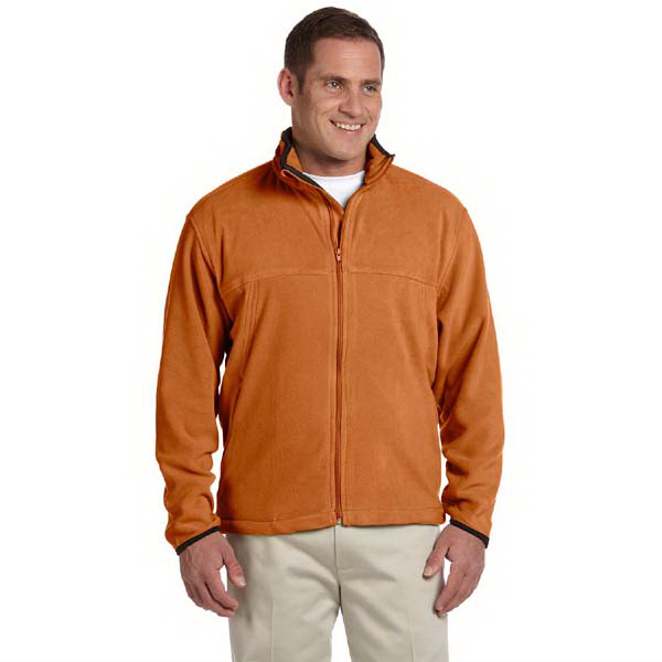 Custom Men's Microfleece Full Zip Jacket