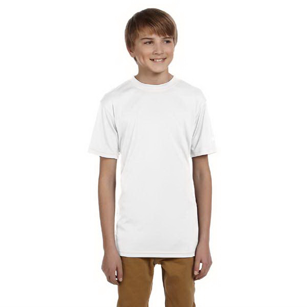 Printed Champion Youth 4 oz Double Dry (R) Performance T-Shirt