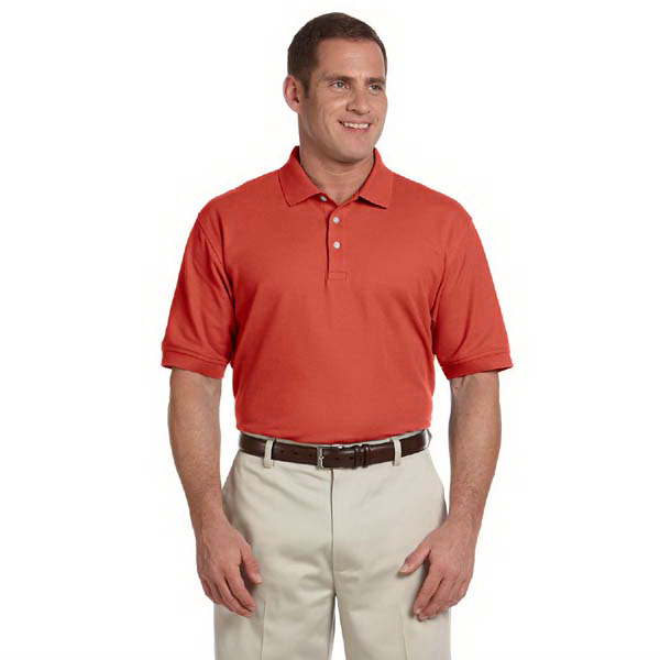 Personalized Devon & Jones Men's Pima Pique Short-Sleeve Polo