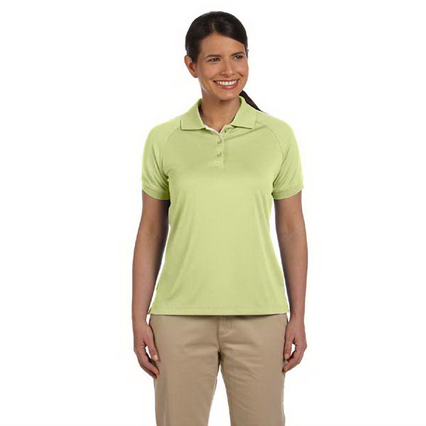 Printed Ladies' Dri-Fast (TM) Advantage (TM) colorblock mesh polo