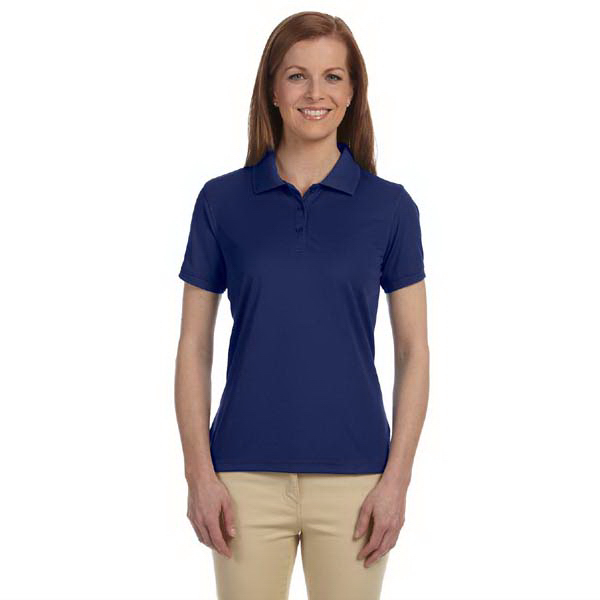 Custom Ladies' Dri-Fast (TM) Advantage (TM) solid mesh polo