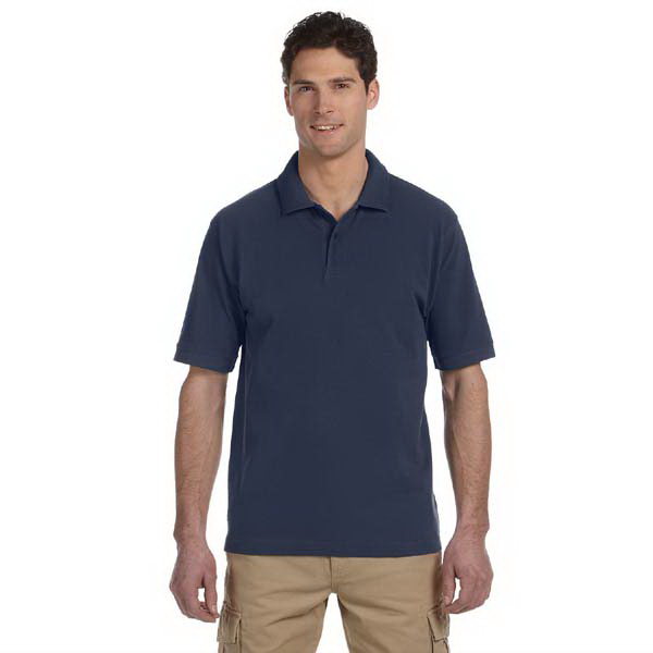 Personalized 6.5 oz. 100% Organic Cotton Pique Polo