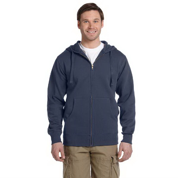 Personalized 9 oz. Organic / Recycled Full Zip Hood