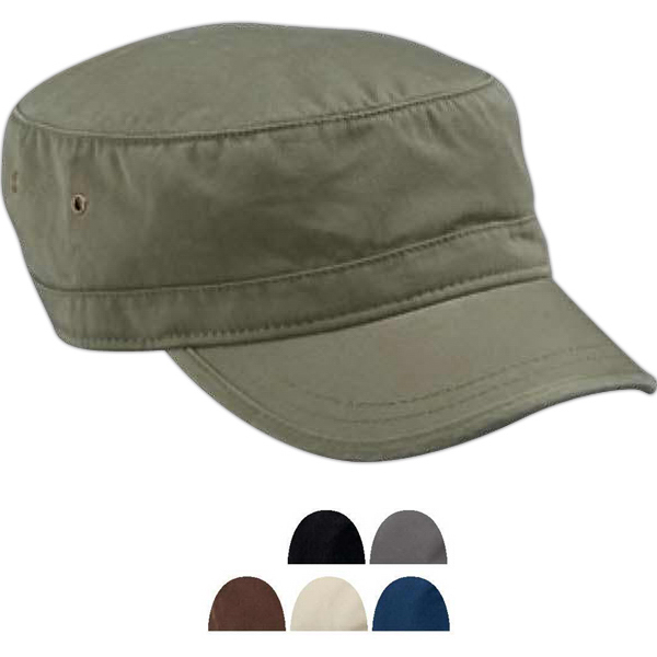 Printed Econscious Organic Cotton Twill Corps Hat