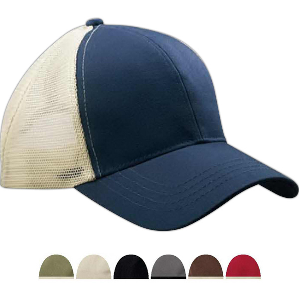 Personalized Econscious Eco Trucker Organic/ Recycled Cap