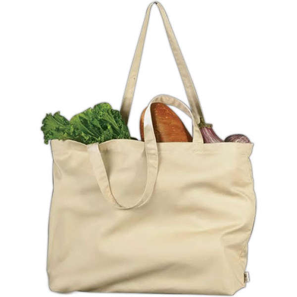 Custom Econscious Organic Cotton Large Twill Tote