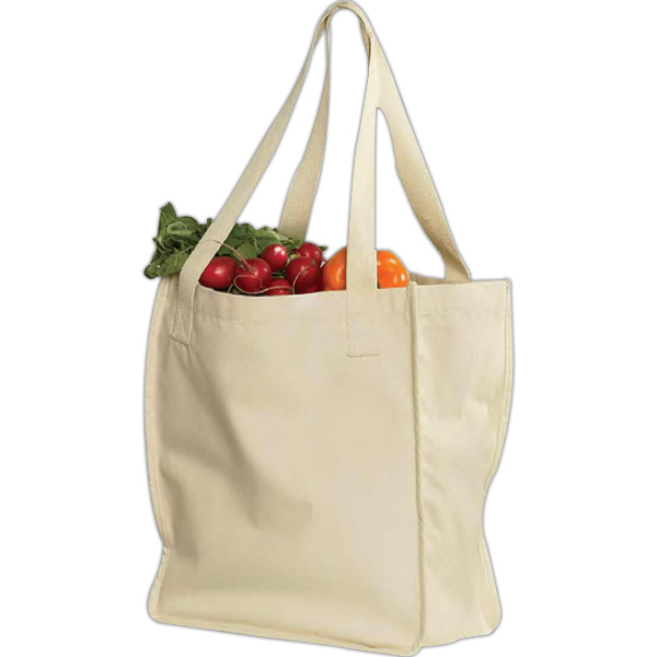 Personalized Econscious Organic Canvas Market Tote
