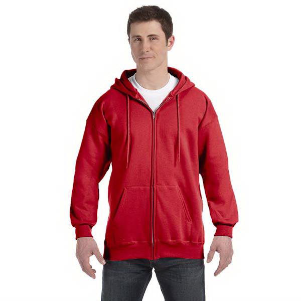 Promotional 10 oz. Ultimate Cotton (R) 90/10 Full Zip Hood