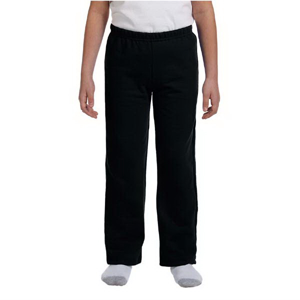 Custom Youth 7.75 oz. HeavyBlend (TM) 50/50 open-bottom sweat pants