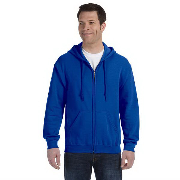 Promotional 7.75 oz. Heavy Blend (TM) 50/50 Full-Zip Hood