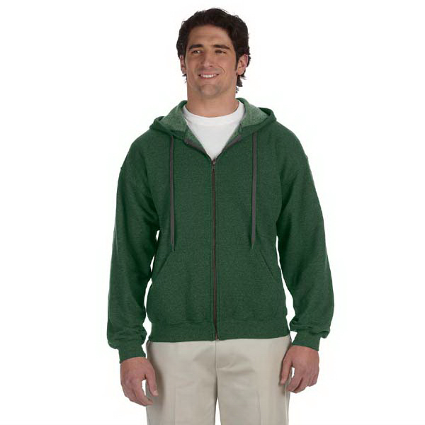 Customized 7.75 oz. HeavyBlend (TM) vintage classic full-zip hood