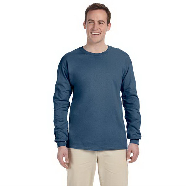 Printed Gildan 6 oz Ultra Cotton (TM) Long-Sleeve T-Shirt