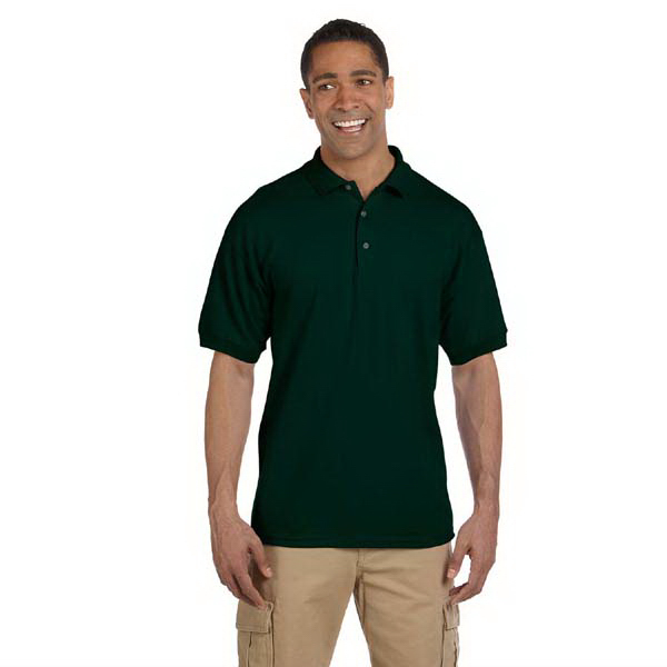 Imprinted Men's 6.5 oz. Ultra Cotton (R) Ringspun Pique Polo