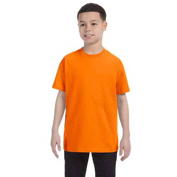 Imprinted Gildan Youth 5.3 oz. Heavy Cotton T-Shirt