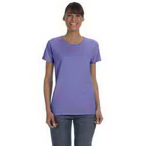 Printed Ladies' 5.3 oz Heavy Cotton Missy Fit T-shirt