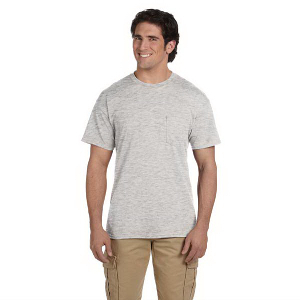 Promotional Gildan 5.6 oz DryBlend (TM) 50/50 Pocket T-Shirt