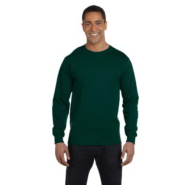 Promotional Gildan 5.6 oz DryBlend (TM) 50/50 Long Sleeve T-shirt