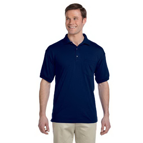 Promotional 5.6 oz. DryBlend(R) 50/50 Jersey Polo with Pocket
