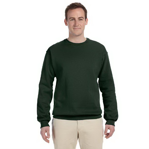 Imprinted 9.5 oz. Ultra Cotton (R) 80/20 Fleece Crew