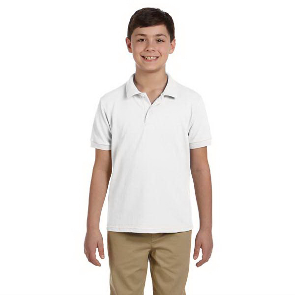 Printed Youth 6.5 oz. DryBlend (TM) Pique Sport Shirt