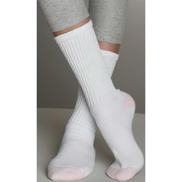Imprinted Ladies' Crew Socks