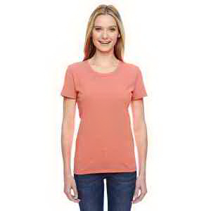 Printed Ladies' 5 oz 100% Heavy Cotton HD (TM)  T-Shirt