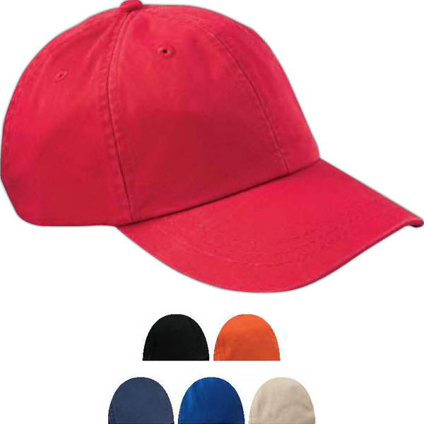 Customized 6-Panel Low Profile true color twill cap