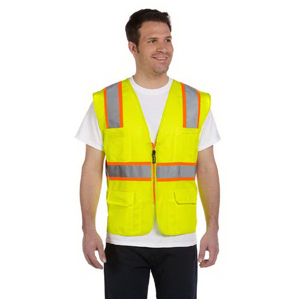 Promotional Classic Mesh Two-Tone Surveyor Vest