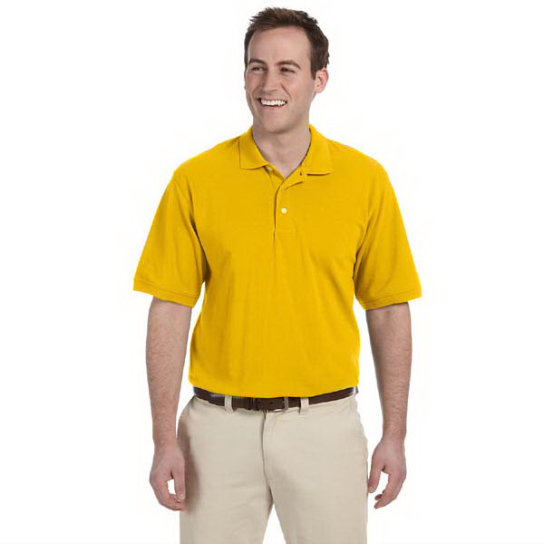 Personalized Men's 5 oz. Easy Blend Polo