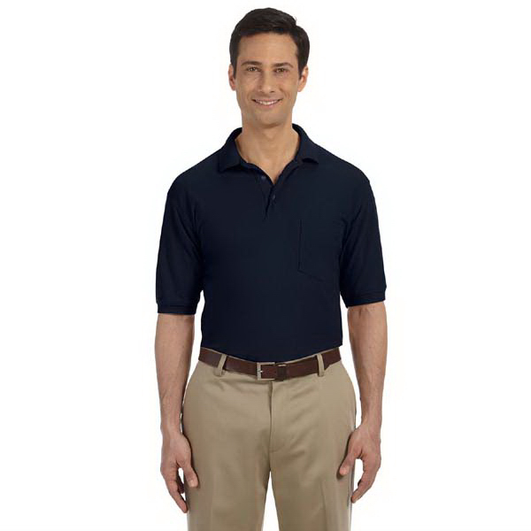 Promotional 5 oz. Easy Blend Polo with Pocket