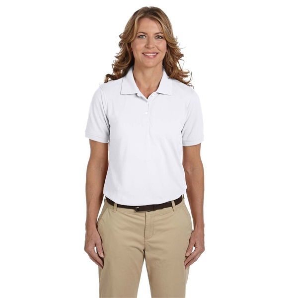 Promotional Harriton Ladies' 5.6 oz. Easy Blend Polo