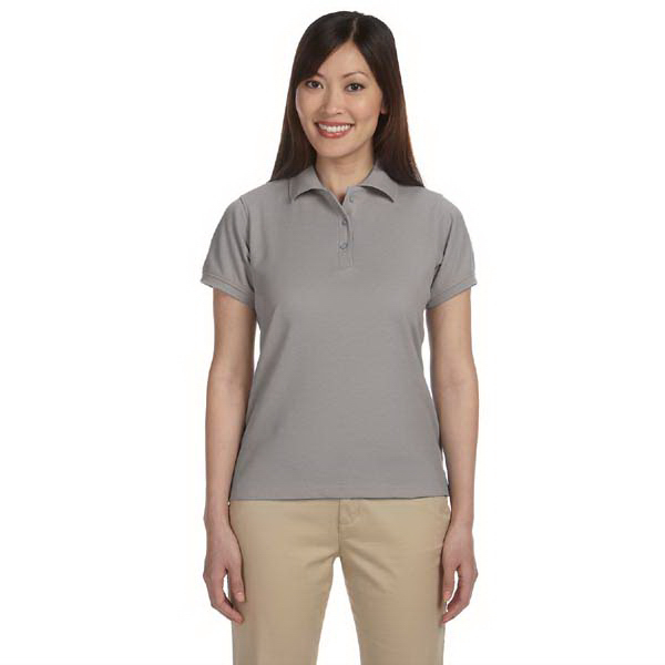 Personalized Harriton Ladies' 5 oz Blend-Tek Polo