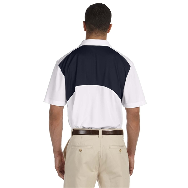 Imprinted Men's  Back Blocked Micro-Pique Polo