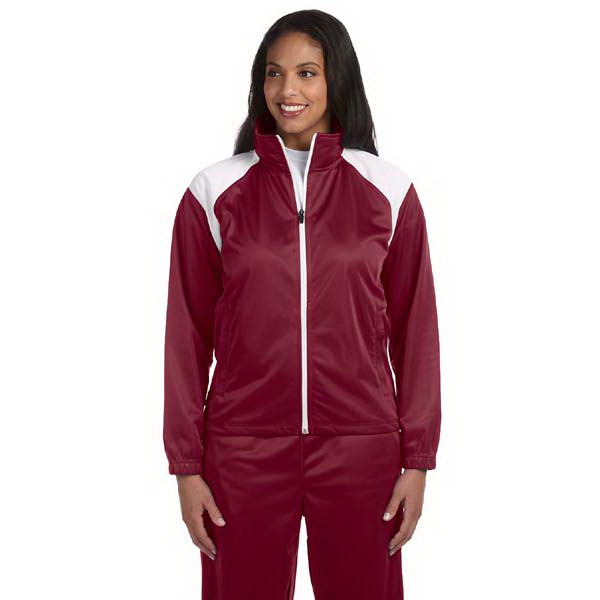 Personalized Ladies' Tricot Track jacket