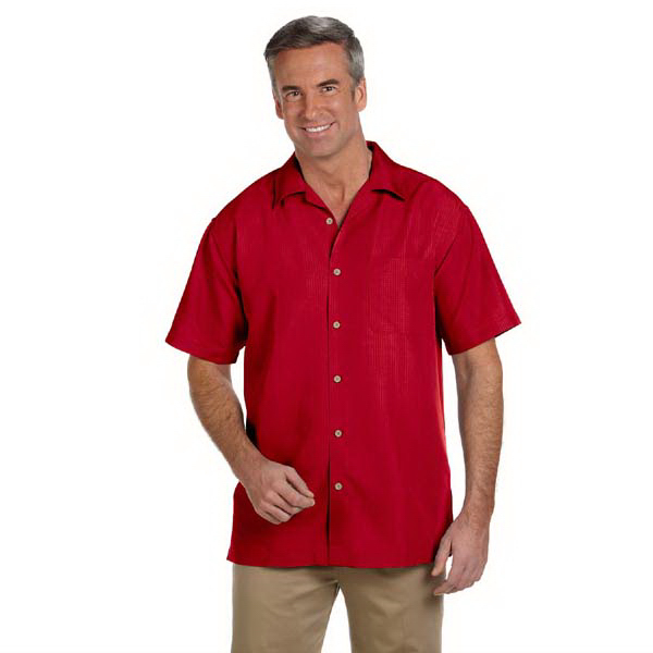 Personalized Men's Barbados Textured Camp Shirt