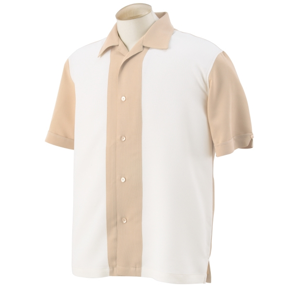 Custom Men's Two Tone Bahama Cord Camp Shirt
