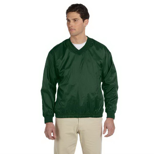 Promotional Athletic V-Neck Pullover Jacket