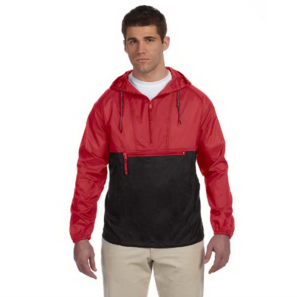 Imprinted Packable Nylon Jacket