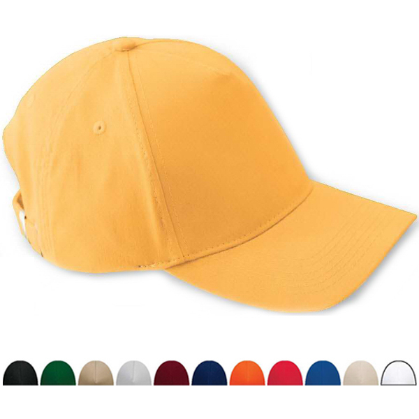 Customized Five Panel Brushed Twill Cap