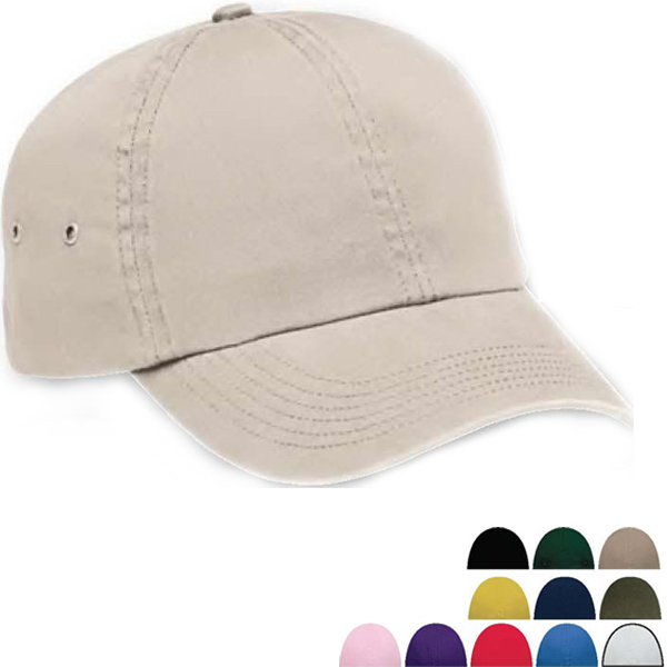 Personalized Washed Twill Baseball Cap