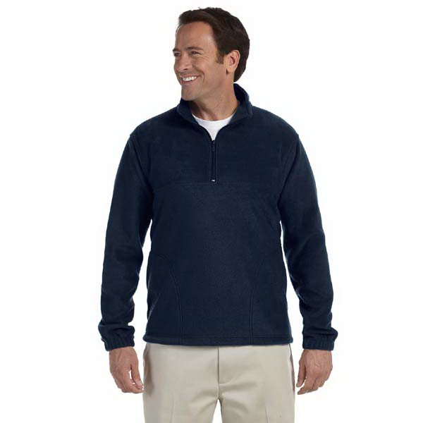 Printed 8 oz. Quarter Zip Fleece Pullover