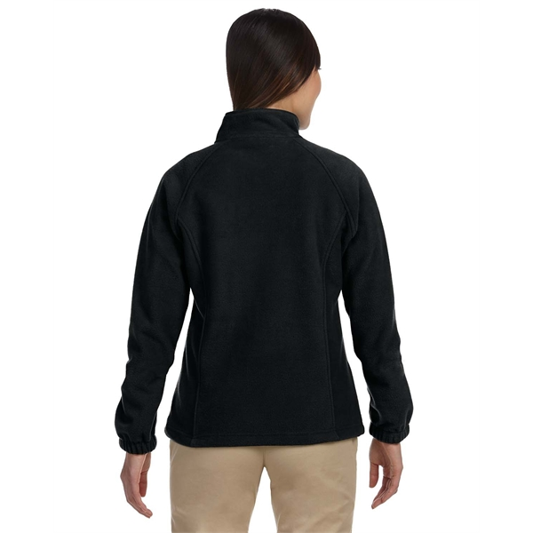 Customized Ladies' 8 oz. Full Zip Fleece
