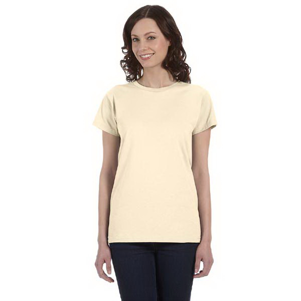 Printed Ladies' 5 oz. 100% organic cotton t-shirt
